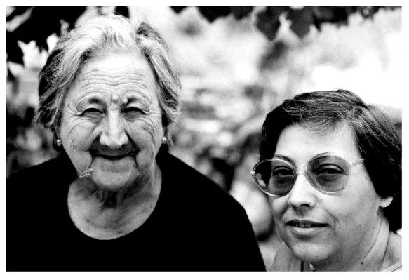 Mi abuela Ángela y Chon
