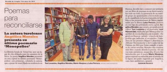 Monopolios en El Heraldo de Aragón
