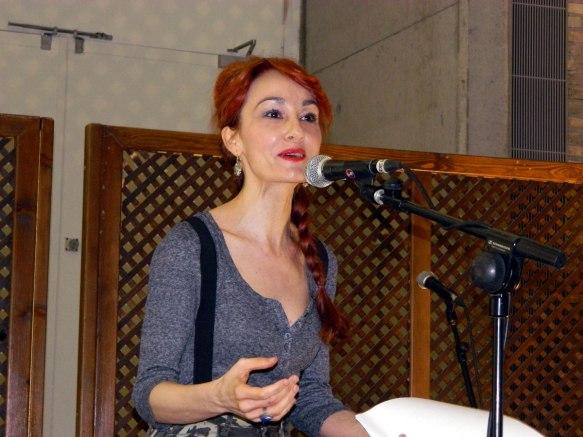Angélica Morales en Parnaso 2.0 2016