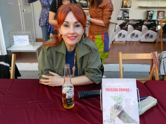 Angélica Morales (Feria del Libro de Huesca 2016)