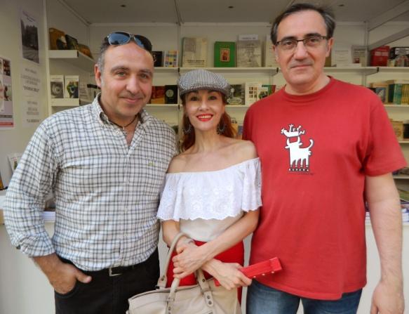 José Ángel Monteagudo, Angélica Morales y José Antonio Lozano