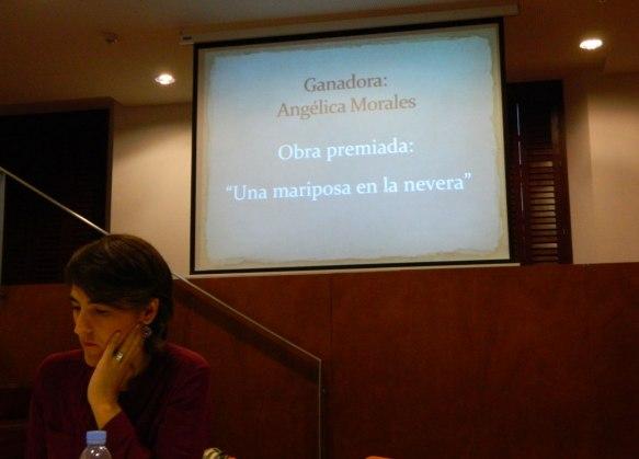 """IV Certamen Nacional de Poesía """"Poeta de Cabra"""" 2016. En la foto: Tulia Guisado Muñoz, jurado del certamen"""