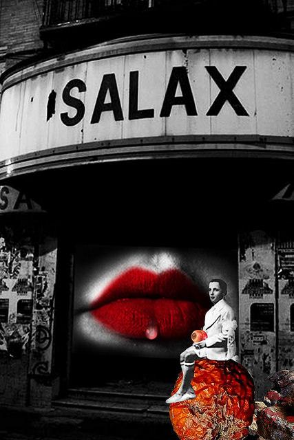Cine X, obra de Ubé