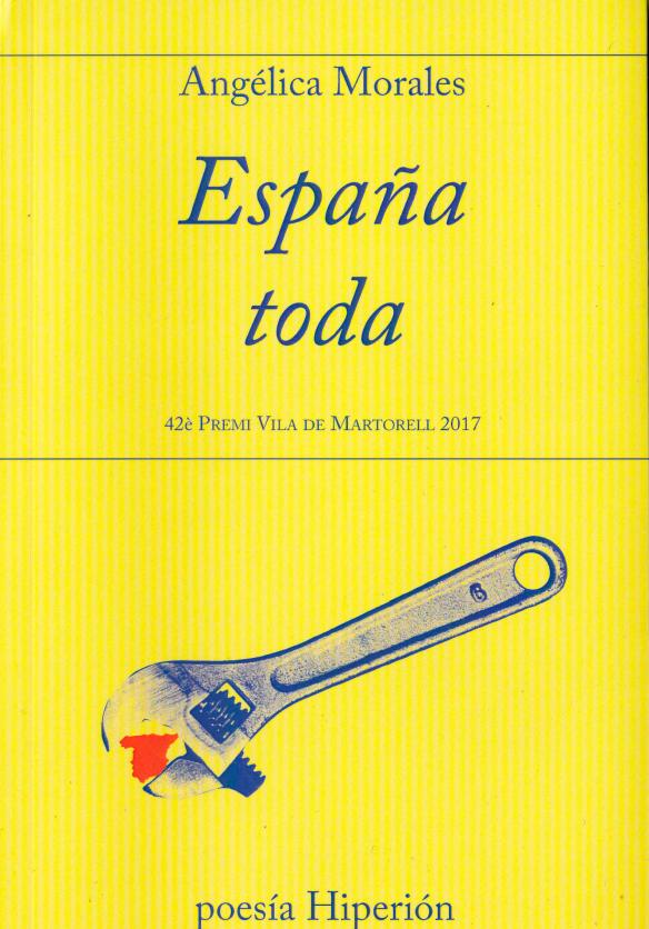 España toda, de Angélica Morales. Publicada por Hiperión.