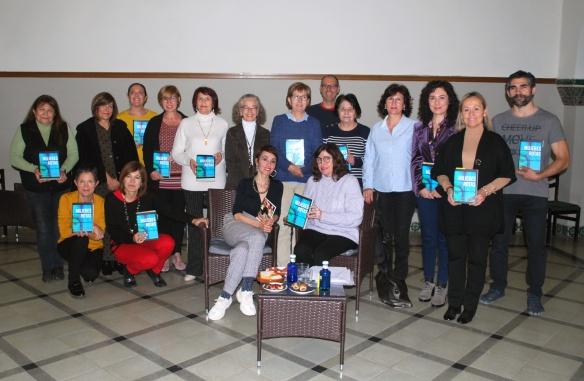 """Mujeres rotas, en el Club de Lectura """"La Diosa de los Libros"""" de Teruel."""